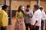 MegaStar Chiranjeevi 150th Film Shooting Working Stills