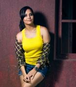 Actress Anchor Anasuya Bharadwaj Latest Hot PhotoShoot in Yellow and Black dress