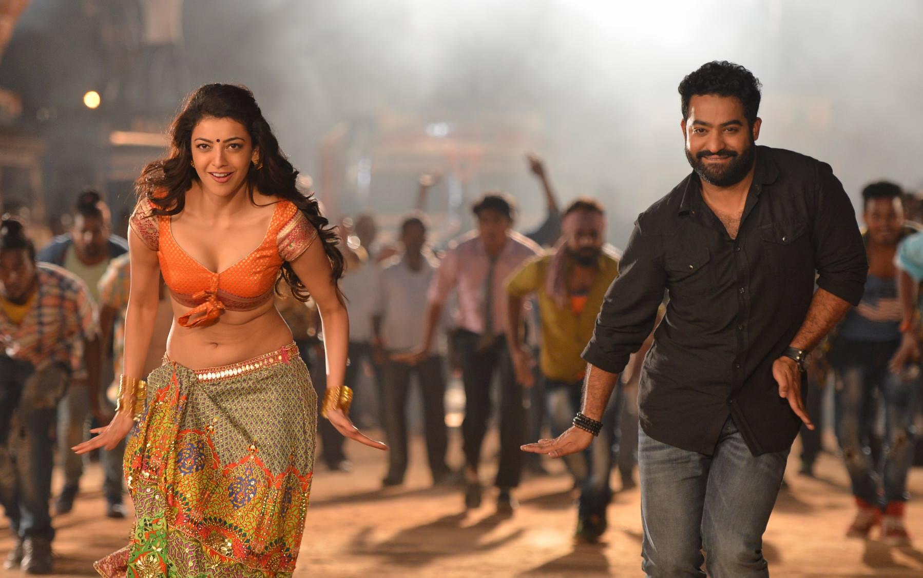 kajal agarwal pakka local janatha garage item song ultra hd pics from jr ntr movie photos
