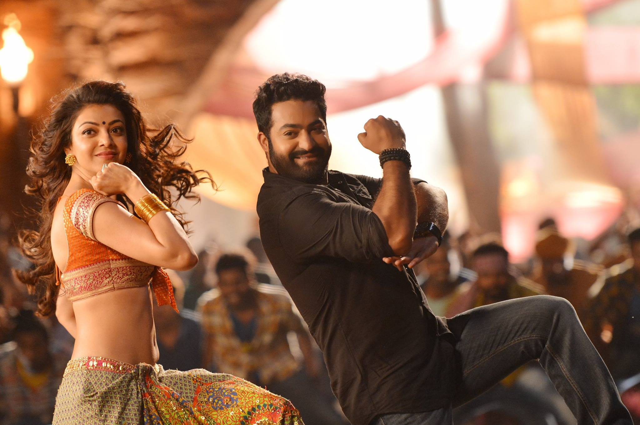 ... Item Song ULTRA HD Pics from JR NTR Movie Photos Kajal Aggarwal Images