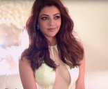 07-Kajal Agarwal ULTRA HD Photos for South Scope Magazine 2016 Kajal Aggarwal Yellow Gown dress Images, Stills, Pics, Gallery