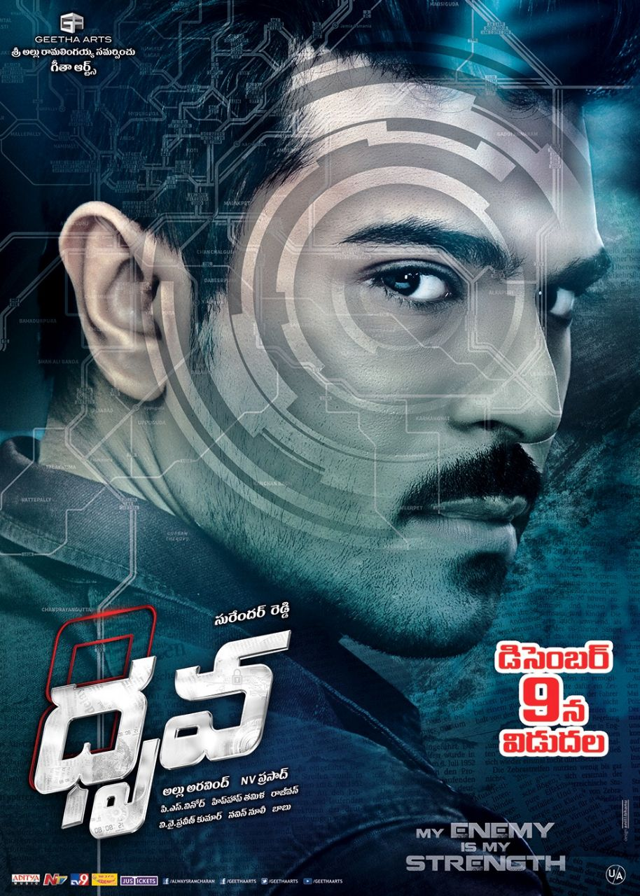 Ram Charan Tej Dhruva Movie First Look HD ULTRA HD Posters, WallPapers ...