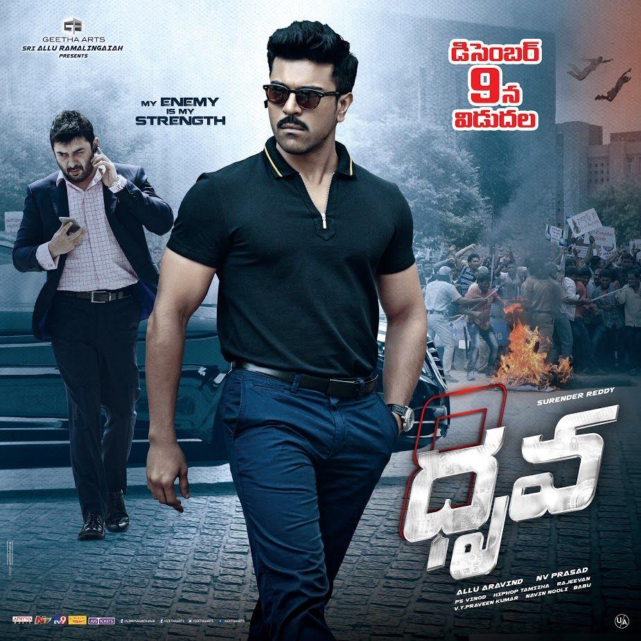 Ram Charan Tej Dhruva Movie First Look Hd Ultra Hd Posters