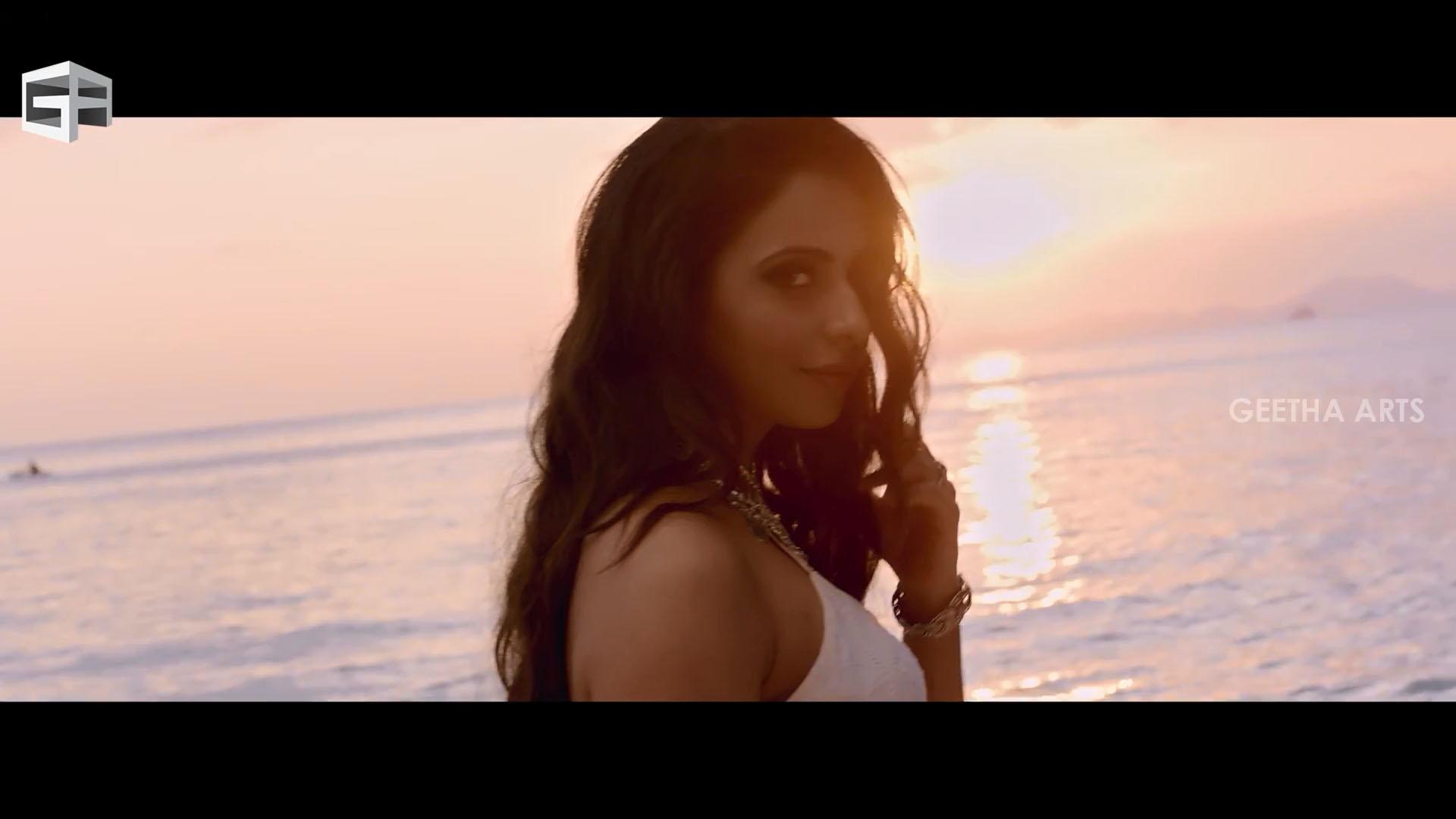13 Rakul Preet Singh Hot Ultra Hd Photos Dhruva Pareshanura Song White Bikini Images Stills Gallery Preeth Xphotos