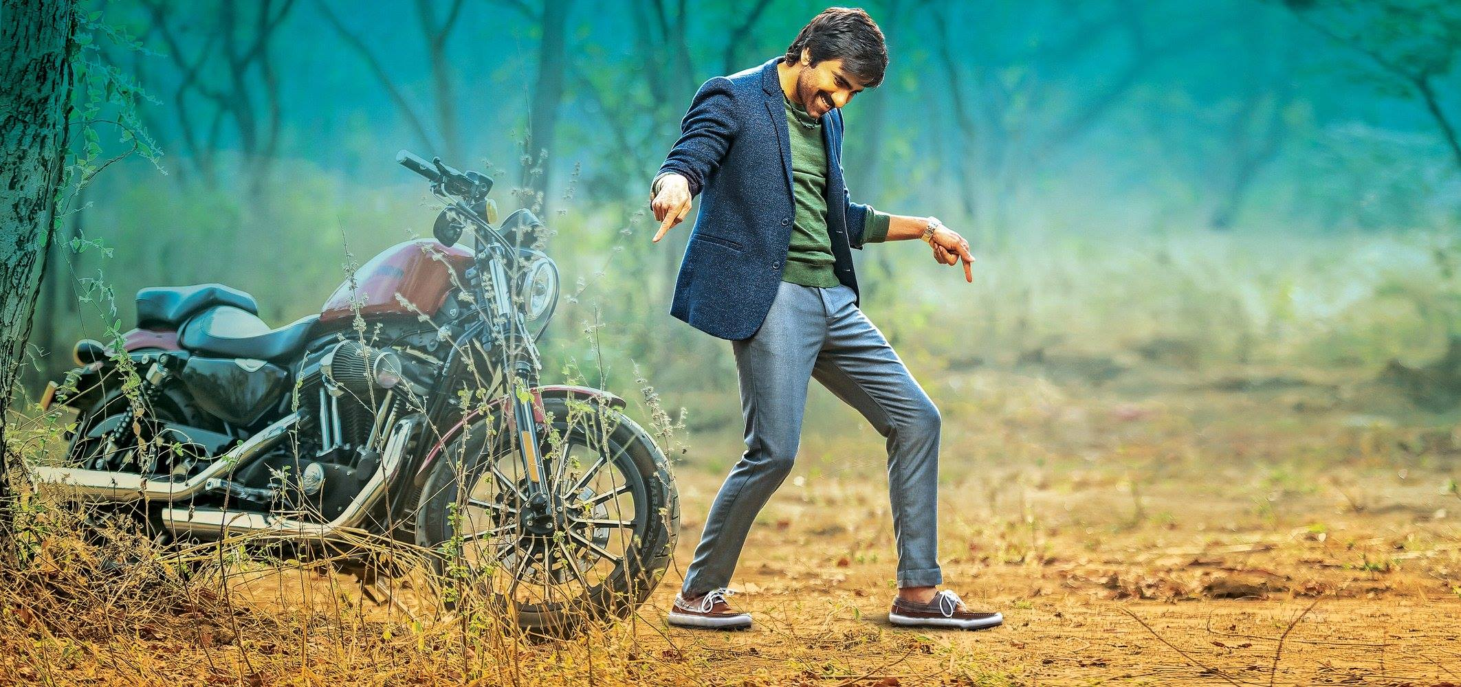 Ravi teja touch chesi chudu movie first look ultra hd for Look wallpaper
