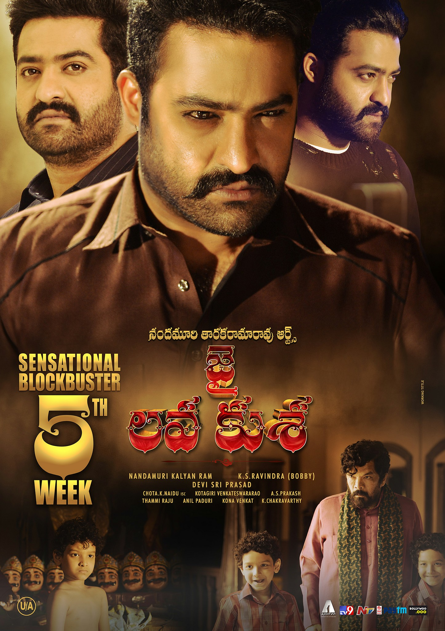 Jr Ntr Jai Lava Kusa Movie First Look Ultra Hd Posters Wallpapers