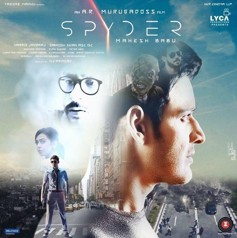 Mahesh Babu SPYDER Movie First Look ULTRA HD Posters