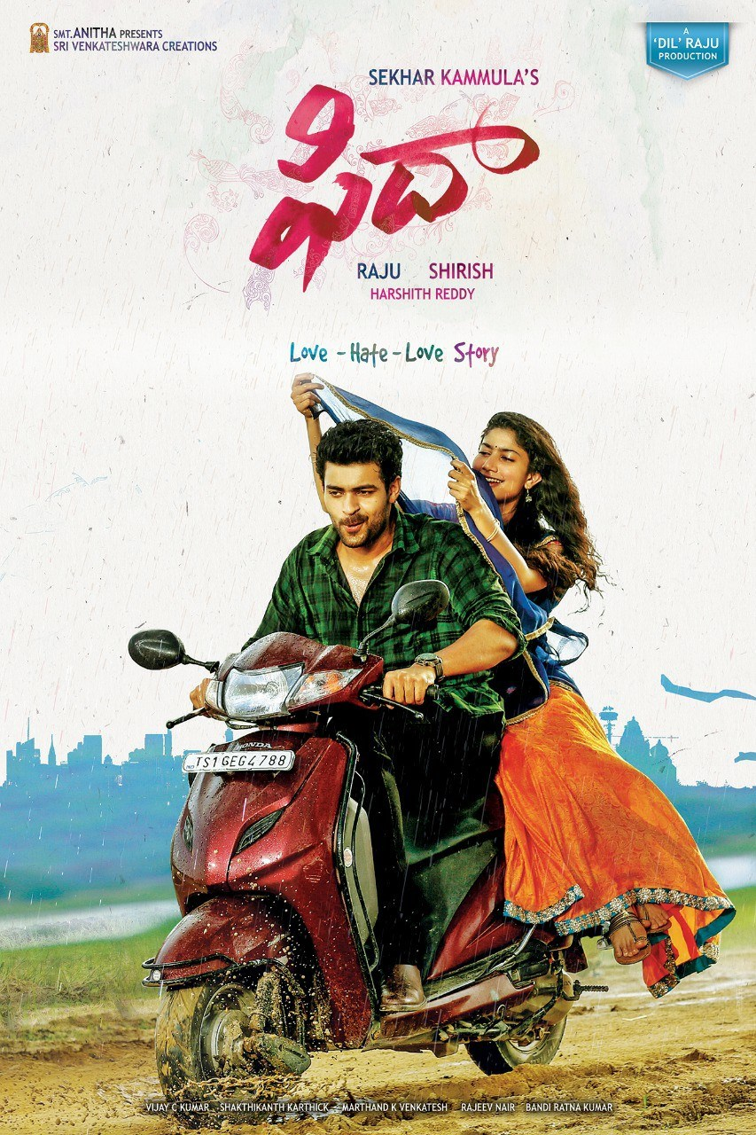 Image result for fidaa poster