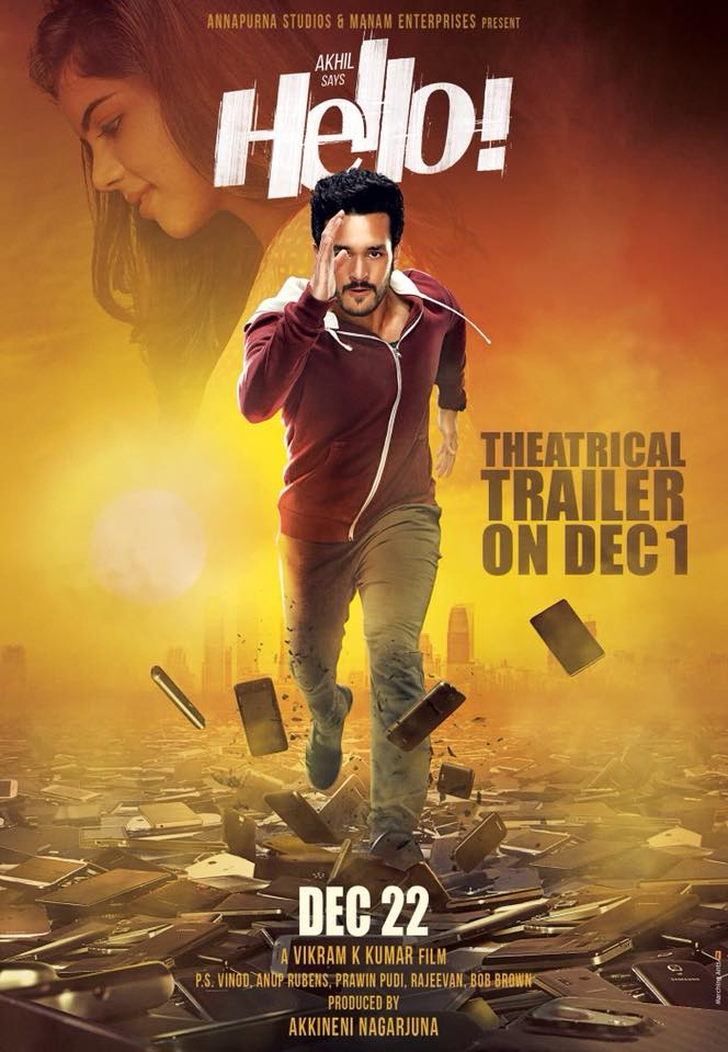 Akhil Akkineni Hello! Telugu Movie First Look ULTRA HD