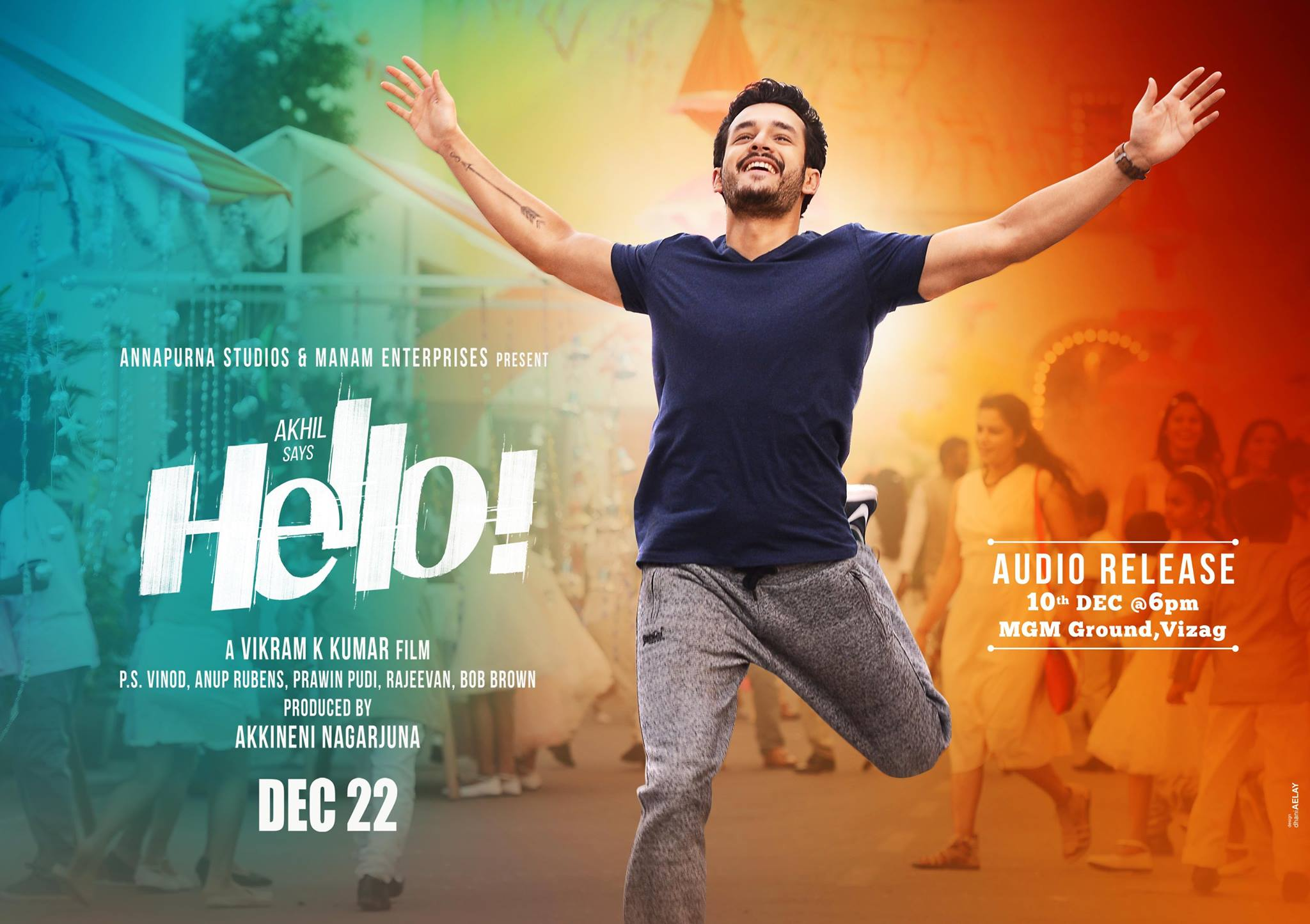 Akhil Akkineni Hello! Telugu Movie First Look ULTRA HD