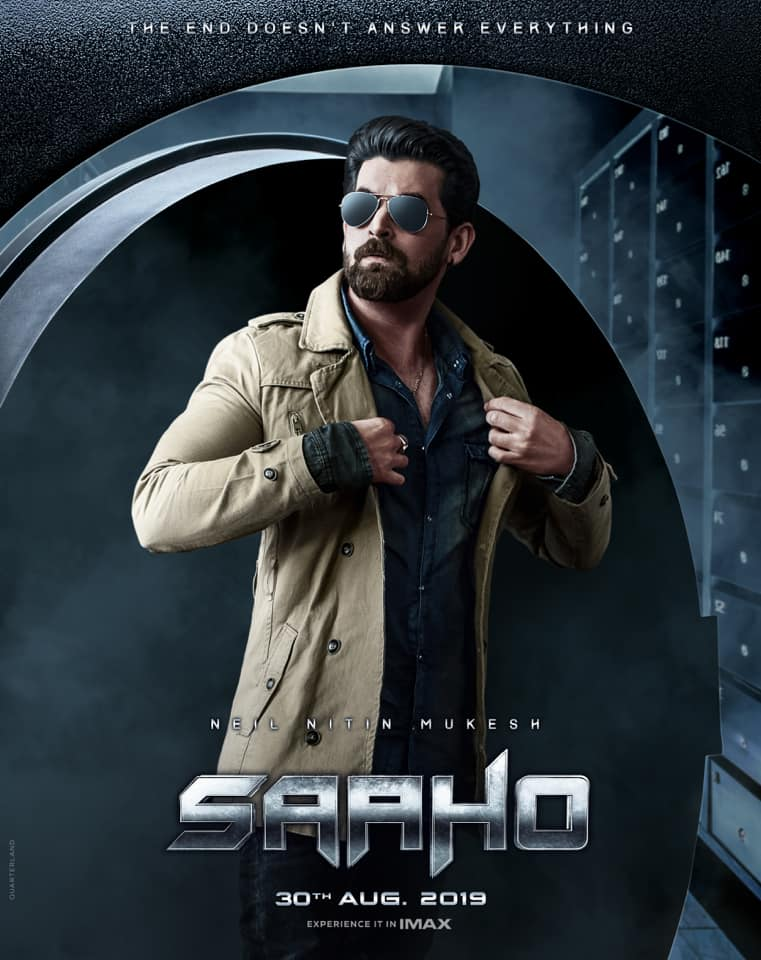 Saaho Movie Poster Background