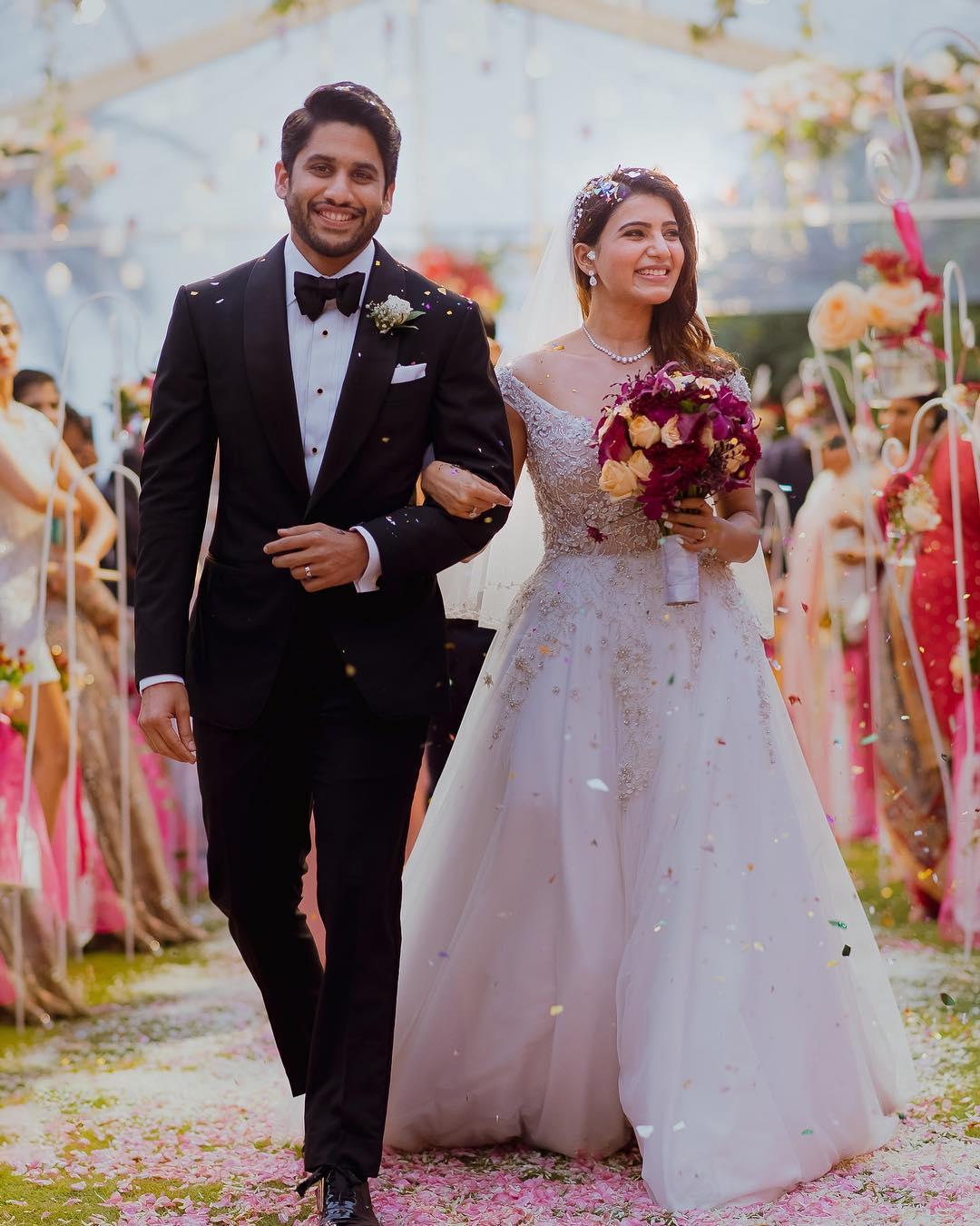 samantha ruth prabhu naga chaitanya akkineni marriage photos hd
