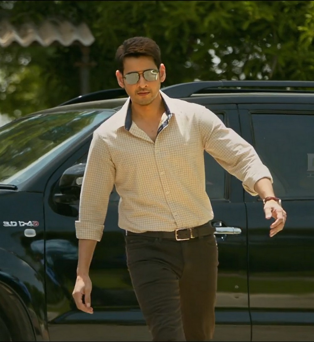 SECURITY AROUND MAHESH MAHARSHI