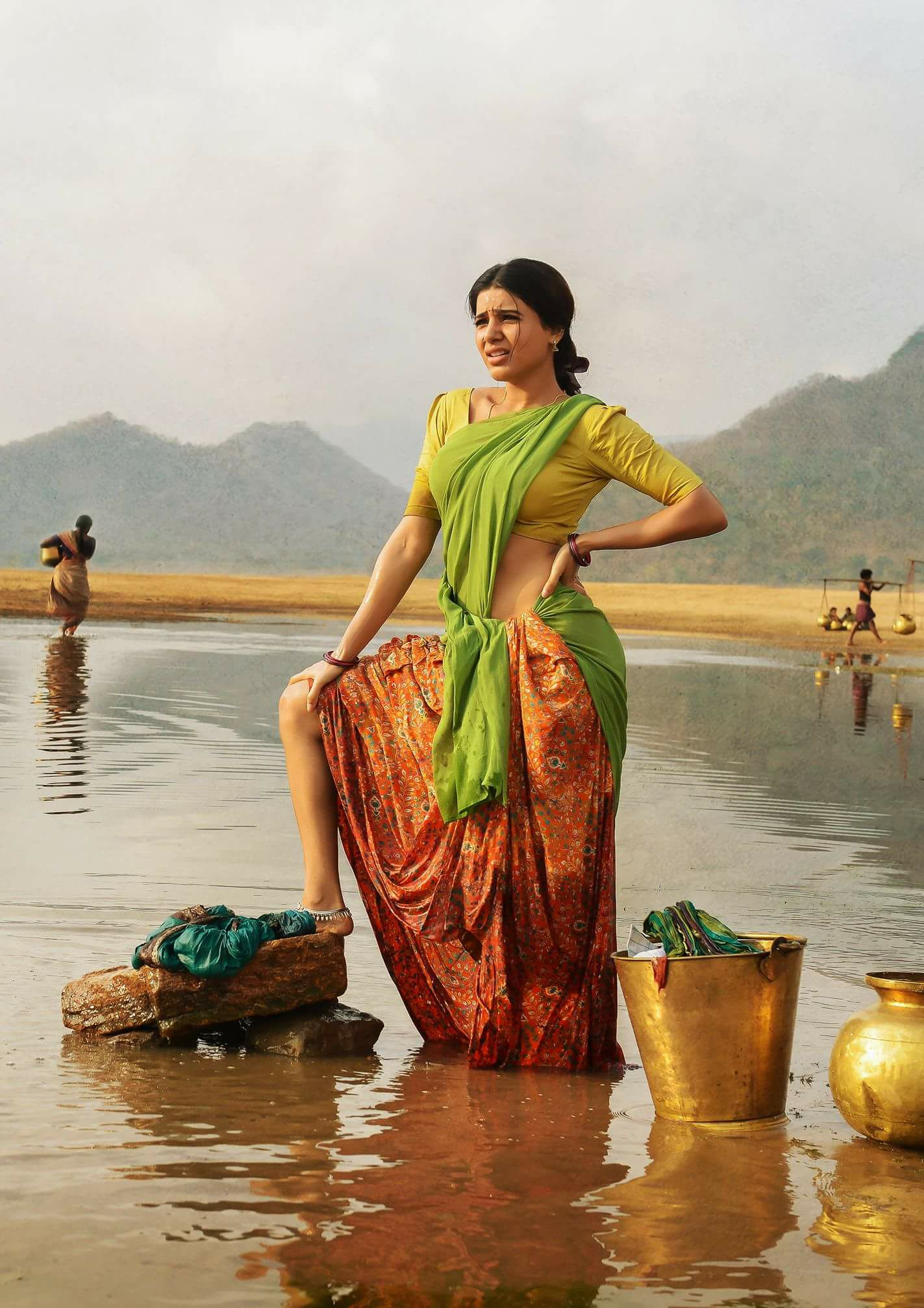 Rangasthalam 1985 Movie Hd Photos Stills Ram Charan