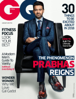 Prabhas Photo Shoot for GQ Magazine India HD Photos Stills Images