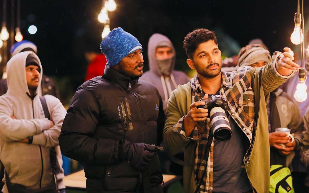 Allu Arjun Naa Peru Surya Naa Illu India Movie Hd Working Stills