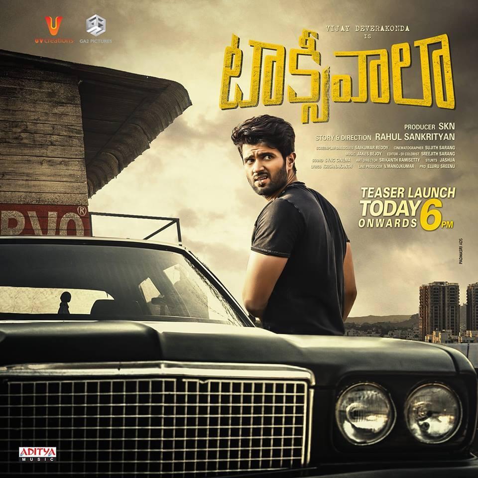 Vijay Deverakonda Taxiwala Movie First Look ULTRA HD