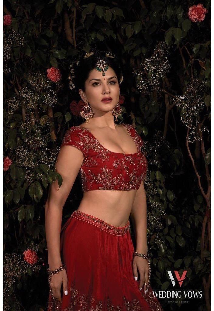 Sunny Leone Hot Photoshoot For Wedding Vows Magazine Ultra Hd Photos Stills Images