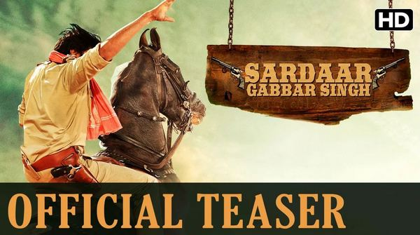 Pawan Kalyan Sardaar Gabbar Singh Official Hindi Teaser HD 1080P Video