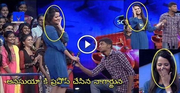 Yesterday Anasuya Shocked With Unexpected Proposal In Show