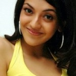 Kajal Agarwal in Yellow Dress Photoshoot