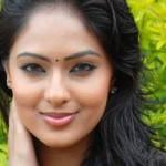 Nikesha Patel Hot in Black Saree