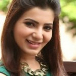 Samantha Latest stills in Green Top and Black Jeggings