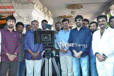 Ravi Teja, Hansika new movie Starts
