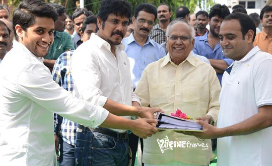Akkineni`s 'Manam' Movie Launched Today