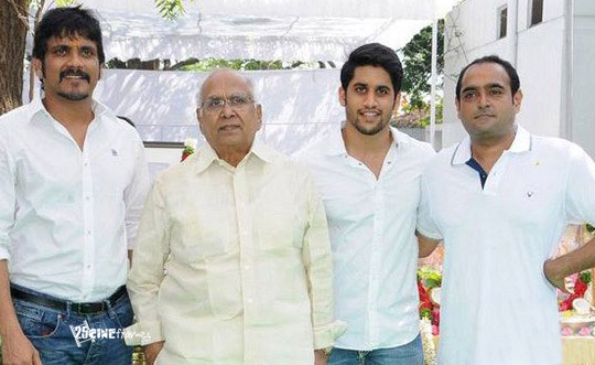 Manam Shooting In Hyderabad