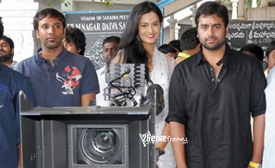Nara Rohit New Movie Launched