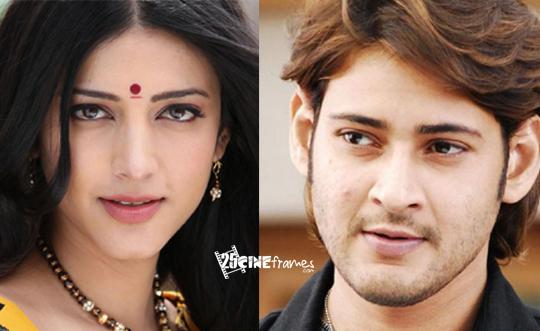 Shruti Haasan With Mahesh Babu In Koratala Siva Movie?