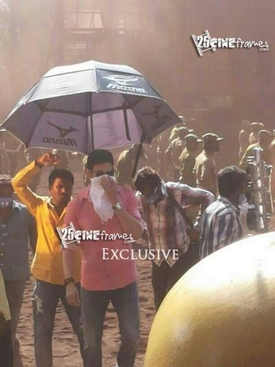 Mahesh Babu hard work for Aagadu title song