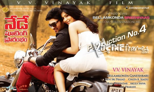 Samantha back to VV Vinayak Film Shooting