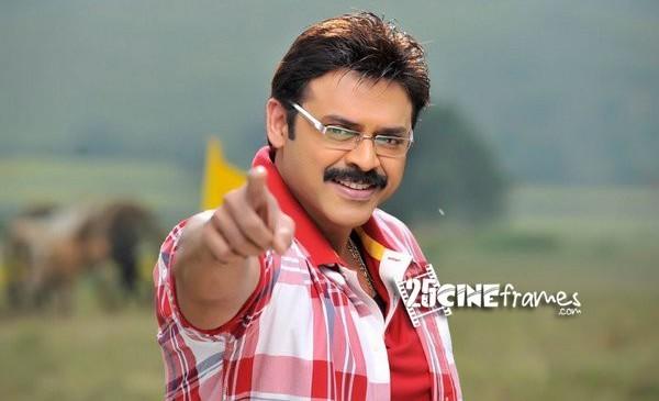 Venkatesh, Nadhiya and Meena in Drishyam Telugu remake