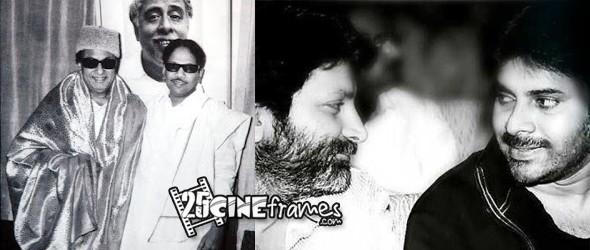 MGR Karunanidhi -Pawn Kalyan Trivikram History Repeats