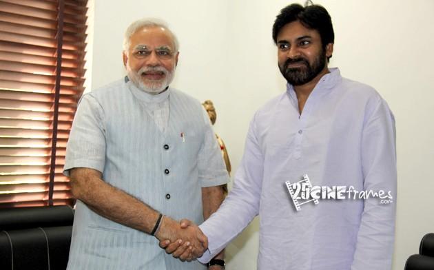 Pawan Kalyan Political support to Narendra Modi