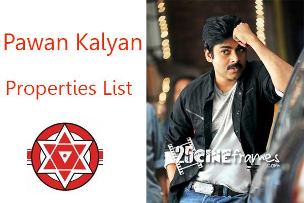 Pawan Kalyan Property Details List