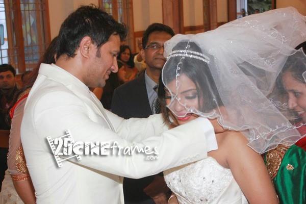Actor Raja weds Amritha Vincent