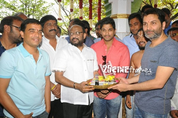 Allu Arjun Trivikram New film launched