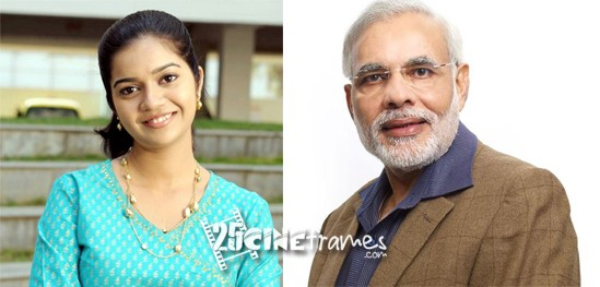 Colours Swathi sensational comments on Rahul Gandhi and Modi