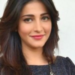 Shruti Haasan New Photo Stills at Race Gurram Success Meet