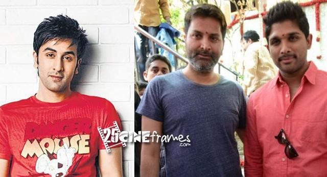 Allu Arjun Trivikram New movie is a Remake of Ranbir Kapoor Movie
