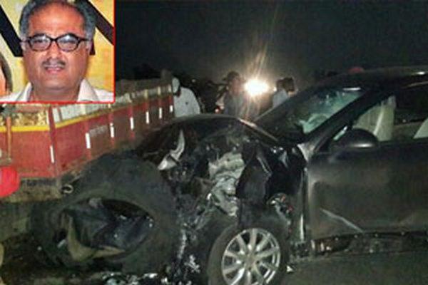 Boney Kapoor Suffers Minor Injury in Car Accident