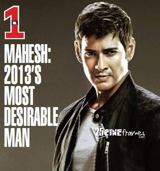 Mahesh Babu 2013's Most Desirable Man