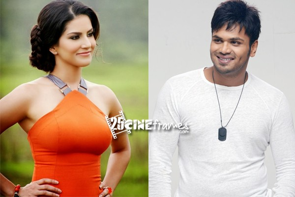 Sunny Leone's Tollywood debut with Manoj's Current Theega