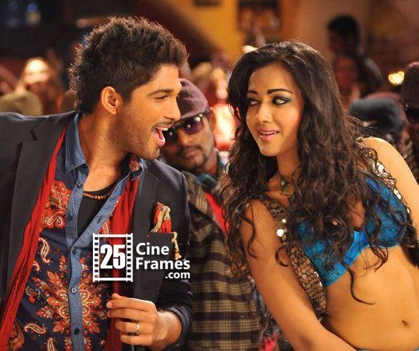 Allu Arjun Breaks Rules To Romance Catherine