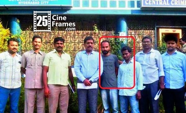 Accused Jannapu Reddy Kartheek and Sreepathi Naresh (marked in a red box) (Photo: DC)