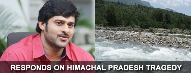 Prabhas responds on Himachal Pradesh tragedy