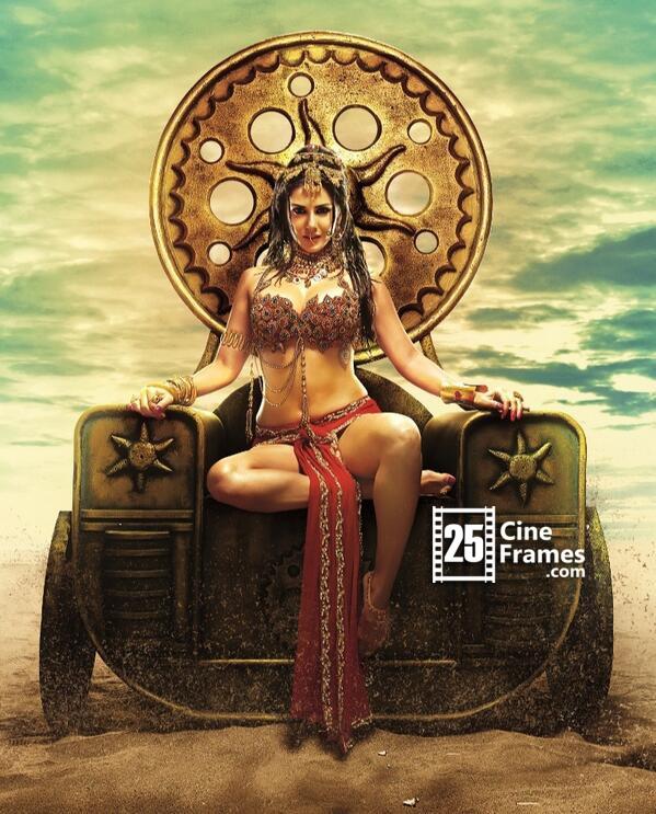 Sunny Leone as royal princess in 'Leela'